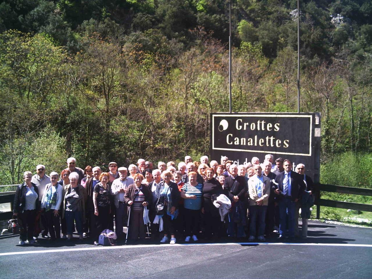 VOYAGE 2012  Costabrava/Andore - Grottes de Canalettes