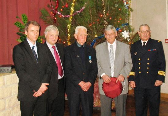 Remise du Mérite Maritime