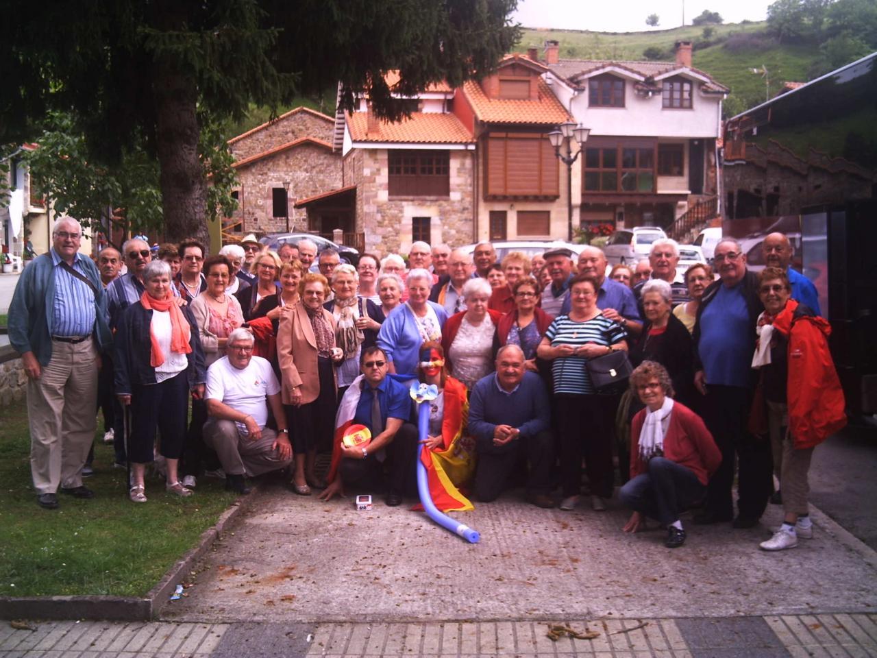 Voyage 2015 UNC  CANTABRIE (Espagne)
