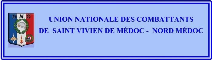 U. N . C DE SAINT VIVIEN DE MEDOC -NORD MEDOC